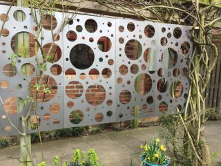 Bubbles Zintec Outdoor Wall Panel (4ft x 2ft)
