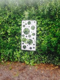 Bubbles Zintec Outdoor Wall Panel (6ft x 3ft)