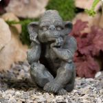 Gazing Zibling Garden Ornament
