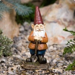 Mini Dig-it Garden Gnome