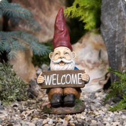 Midi Welcome Garden Gnome