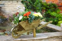 Smart Garden Rustic Tan Woodland Wheelbarrow - Large