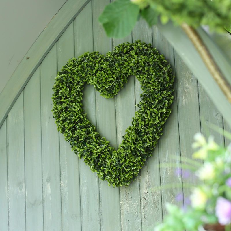 Smart Garden Artificial Topiary Heart