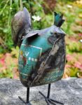 Blue Rooster Large Garden Ornament
