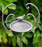 Dove Stake Feeder Garden Ornament