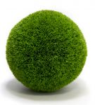 28cm Artificial Topiary Grass Ball By Primrose®