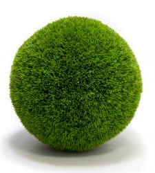 38cm Artificial Topiary Grass Ball By Primrose®