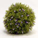 30cm Artificial Topiary Lavender Ball By Primrose®