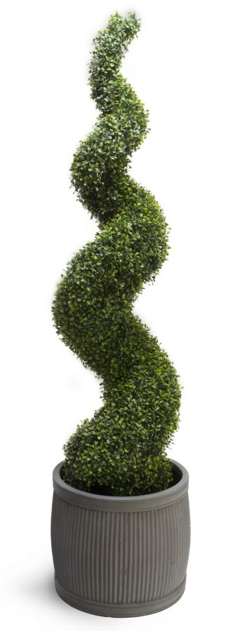 150cm Artificial Topiary Buxus Spiral By Primrose™