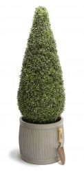 120cm Artificial Topiary Tea Grass Cone By Primrose™