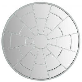 39in Round Labyrinth Garden Mirror