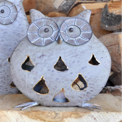 Decorative Small Glowing Owl Ornament