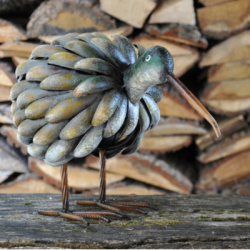 New Zealand Kiwi Bird Metal Garden Ornament