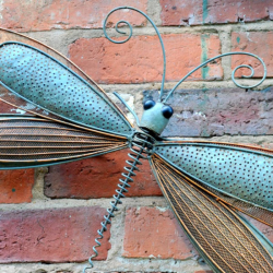 Decorative Metal Dragonfly Wall Art