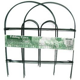 Arch Folding Fence, Green. 45cm x 2.4m