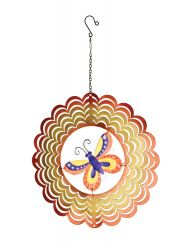 Decorative Butterfly Hanging Spinner