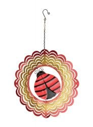 Decorative Ladybird Hanging Kinetic Spinner