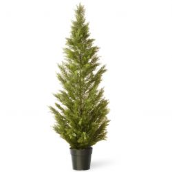 "36"" Arborvitae Artificial Tree in Green Growers Pot"