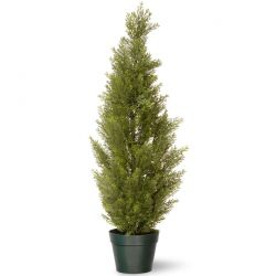 "48"" Arborvitae Artificial Tree in Green Growers Pot"