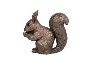 Red Squirrel Garden Sculpture