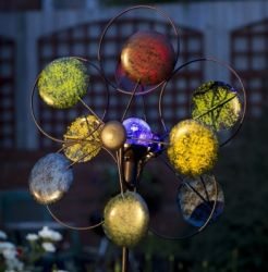 Colour Circles Kinetic Wind Spinner