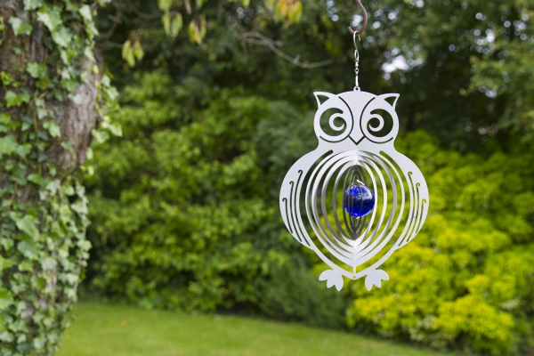 Owl Hanging Wind Spinner