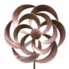 Cotswold Wind Spinner in Brushed Copper Dia 50cm