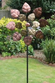 Autumn Leaves Wind Spinner Dia 50cm
