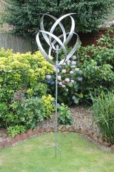 Hampton Wind Spinner in Silver Dia 56cm