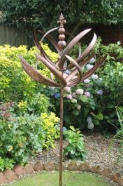 Windsor Wind Spinner Brushed Copper