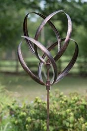 Hampton Wind Spinner in Brushed Copper Dia 56cm
