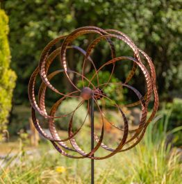 Farley Bronze Wind Spinner Dia 60cm by Primrose™