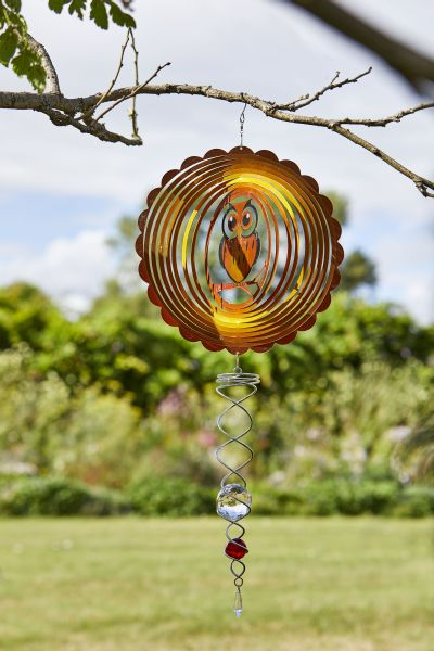 Smart Garden 12 Quot Owl Hanging Wind Spinner 163 14 99