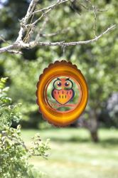"Smart Garden - 12"" Owl Wind Spinner"