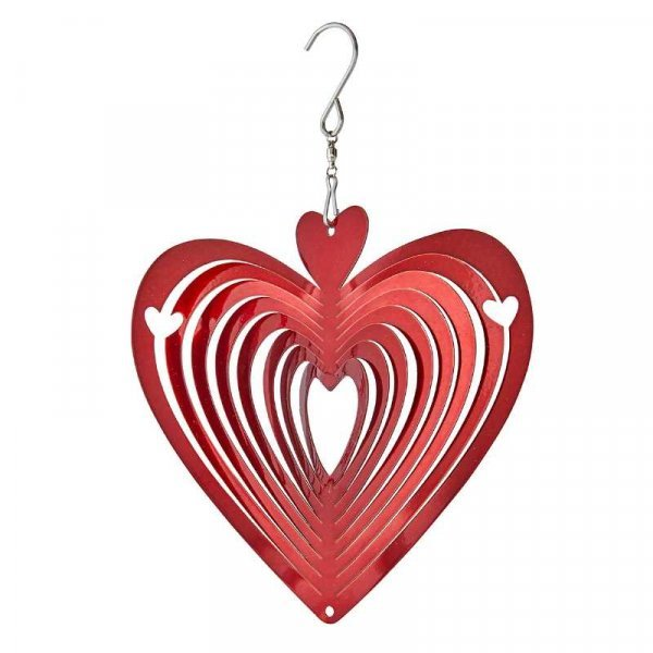 Smart Garden - 6'' Heart of Hearts Hanging Wind Spinner