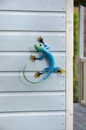 Garden Decoration Gecko Azure by Smart Garden
