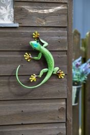 Garden Decoration Gecko Emerald by Smart Garden