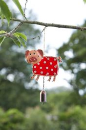 Smart Garden - Garden Decoration Pig & Bell