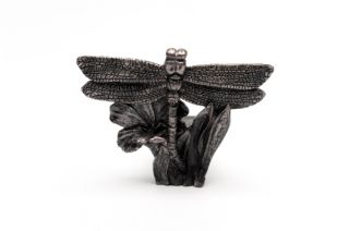 Dragonfly Bronze Pot Feet - Set of 3