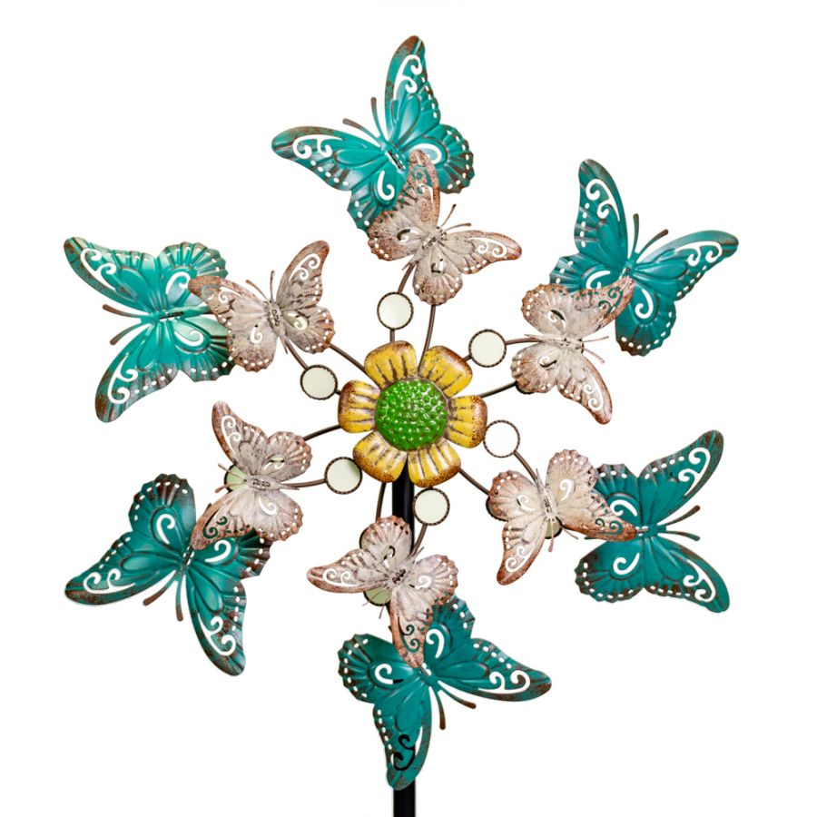 Butterfly Metal Wind Spinner Dia 61cm by Primrose™