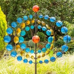 Orbit Multi Coloured Wind Spinner W83cm by Primrose™