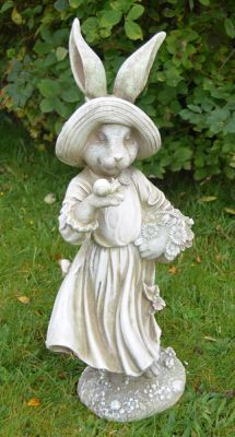 Mrs Rabbit Statue