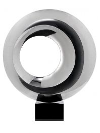 Eclipse Stainless Steel Sculpture