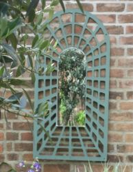 3ft 11in x 1ft 11in Perspective Trellis Arch Mirror