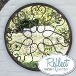 1ft 5in Blossoming Metal Round Mirror - by Reflect�