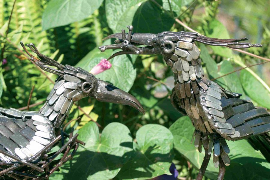 Lapwing Nesting Sculpture