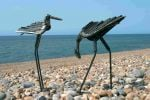 Stilt Pecking Sculpture
