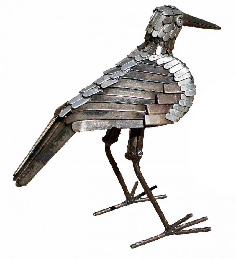 Sandpiper Upright Sculpture