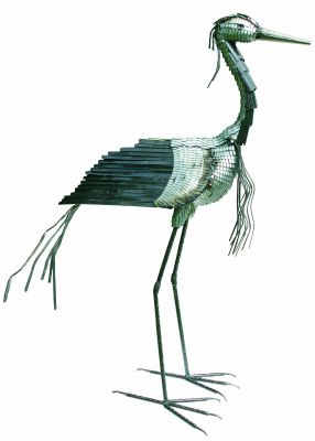 Demoiselle Crane Sculpture