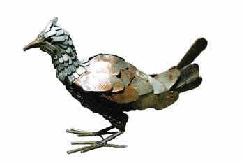 Chicken Steel Sculpture